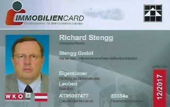Immobiliencard Richard Stengg